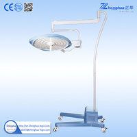 CE&ISO Stand motor LED single dome lighting and lamps for hospital operating room use