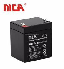 Maintenance free 12V 4.0Ah dry charged battery for UPS