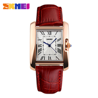 2015 High quality genuine leather fashion excellence quartz lady hand watch