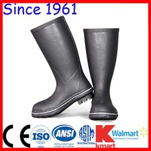 Cheap Gumboots New Style Mining Rubber Boots Anti Smashing Rubber Boots