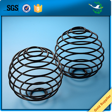 Corrosion resistant black compression steel coil springs