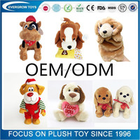 customized stuffed animal high quality plush dog toy