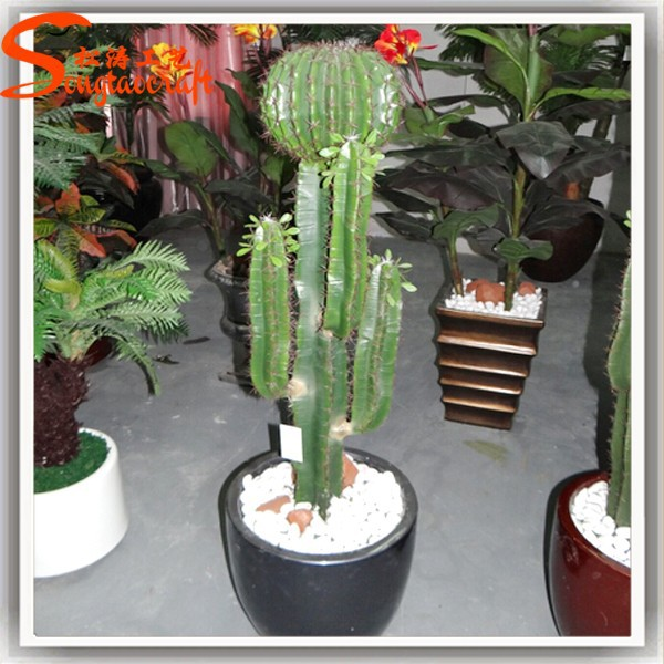 2015 gros plein air cactus greff plantes artificielles cactus en plastique mini gonflable. Black Bedroom Furniture Sets. Home Design Ideas
