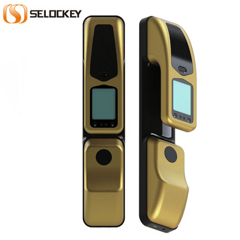 FL-28 Hot selling Fingerprint Password Lock with Smart Card function Intelligent Door Lock