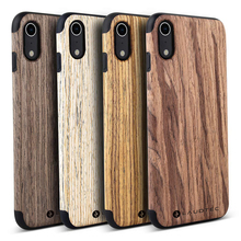 2019 Laudtec Hot Selling Wooden Back Cover Phonecase For iPhone X Real Wood Case