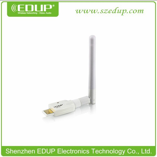 EDUP 150Mbps 802,11n Ralink USB Wifi Adapter with 2dBi Antenna