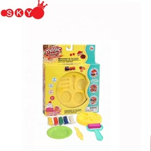Kid play dough with clay tool set in suitcase wholesale