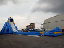 54*15*14m Sale Largest Size Hippo Giant Inflatable Water Slide For Adult