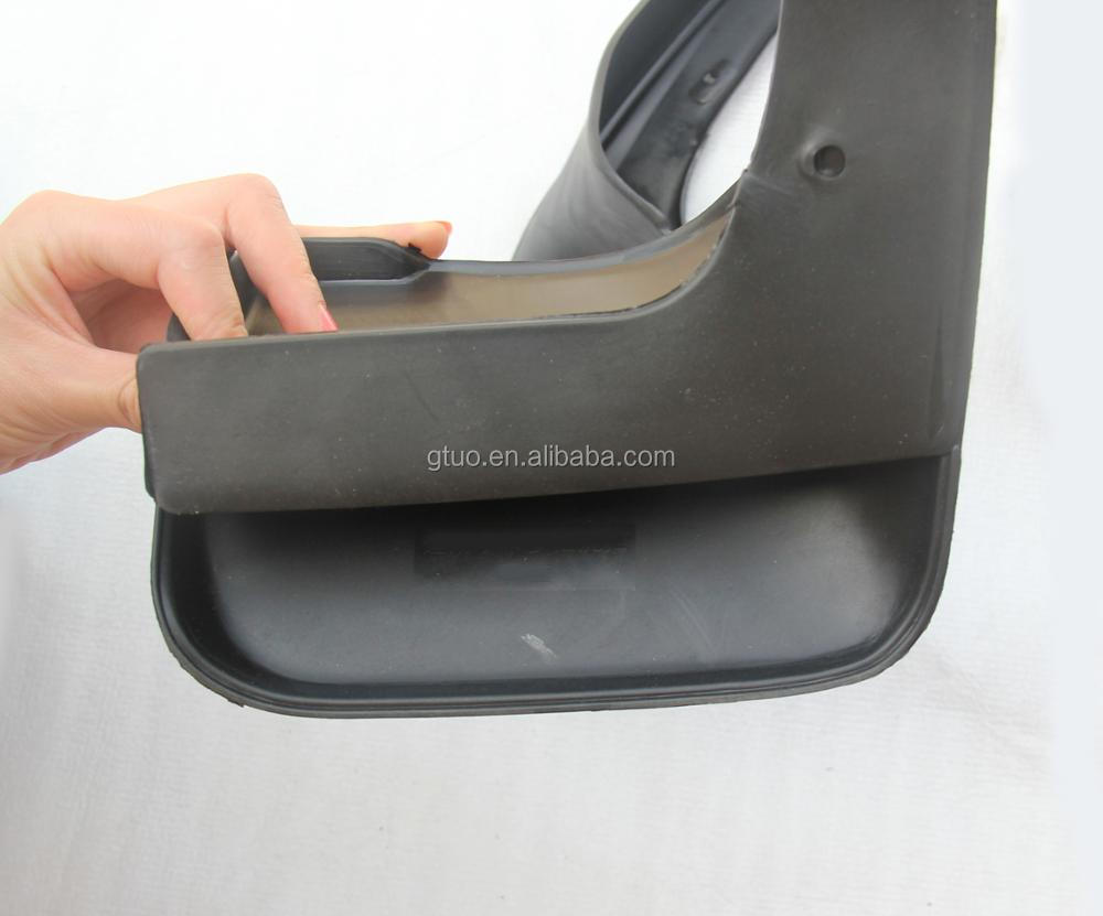 Black rubber good toughness mud flaps for mazda cx-4 parts