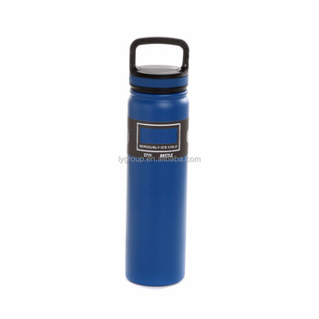 Hot New 27OZ Travel Sport Bottle /Double Wall Stainless Steel 18/8 Vacuum Insulated with Carabiner Lid
