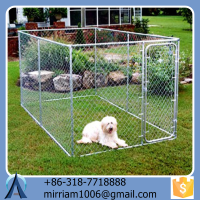 Large outdoor Safe chain link dog cages for run