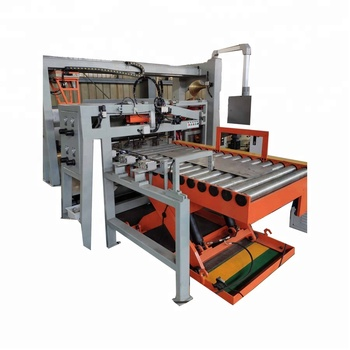 Automatic Destacker/sheet feeder for steel barrel making line