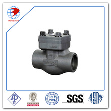 API602 Forged Carbon Steel A105N BBOS&Y Body/Bonnet Structure Socked Welded End Swing Check Valve