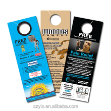 Printing Paper double sided door hanger