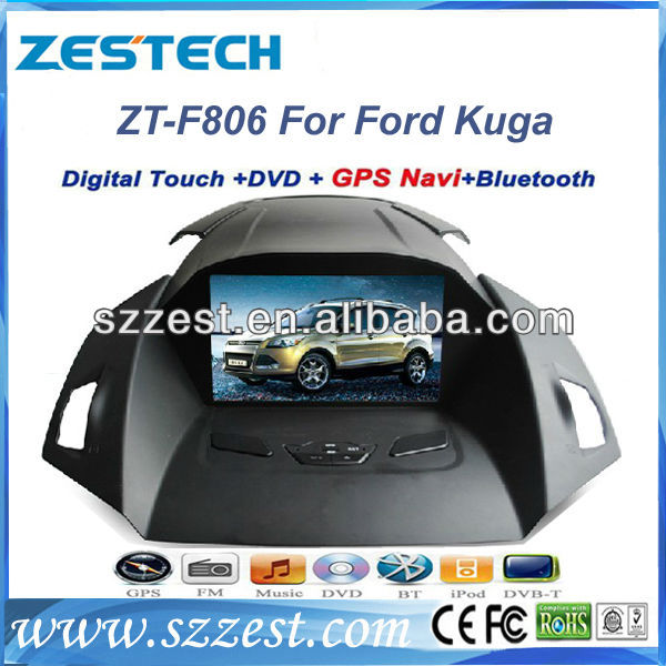 ZESTECH Car DVD Player GPS Navigation system+Radio+Bluetooth car TV for Ford Kuga 2013