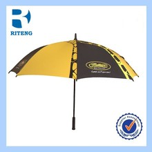 large OEM wholesale low cost durable golf umbrella