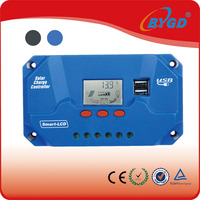 PWM solar panel charge controller manual made in China 40A