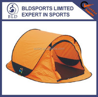 2015 top quality and fashion double layer 4 man Pop up tent