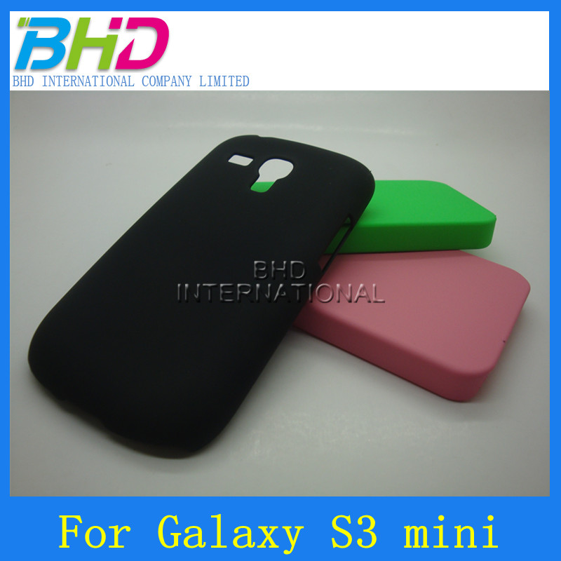smooth pure color back hard case cover for samsun galaxy s3 mini i8190
