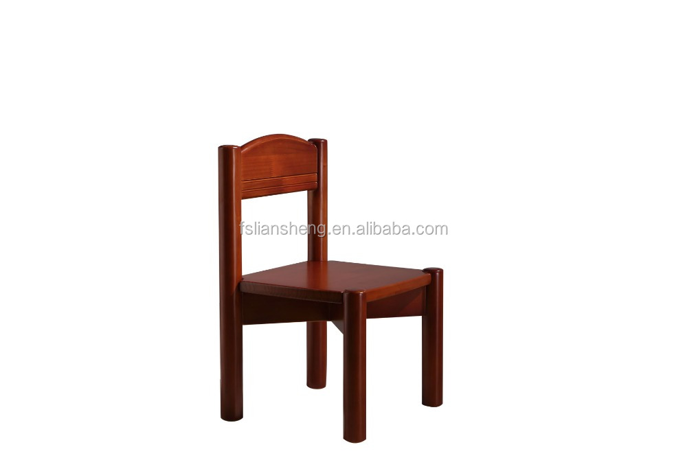 Newly Solid Chile Pine Wood Chirdren Learning Chair