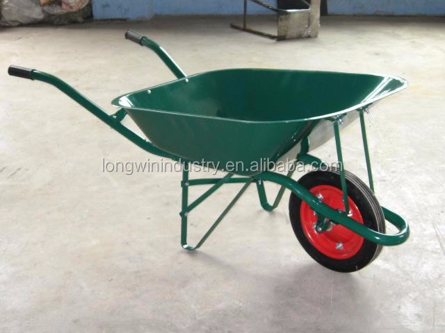 Multifunctional big capacity concrete wheelbarrow