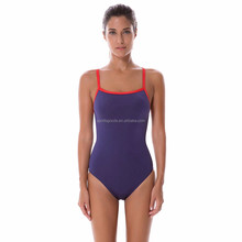 Ladies professional one piece swimwear new fashion swimwear bodysuit women pretty one piece swimsuit