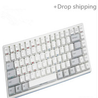 84 Mini Wired portable office game mechanical keyboard for drop shipping and warehousing