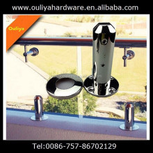 frameless balcony fence spigot, glass clamp, glass connector