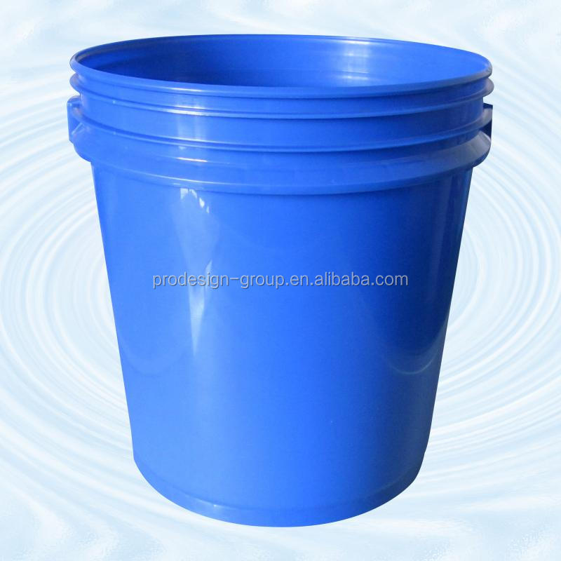 16L plastic bucket with lid, chemical barrel, tub, drum, paint bucket