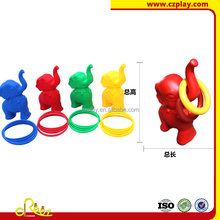 Creez brand plastic elephant rings as throw toys