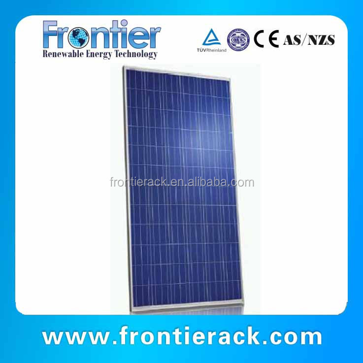 High quality low price home solar systems 100w poly solar panel