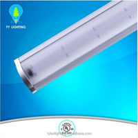 5 year warranty warehouse lighting 150W ip65 led linear high bay light with UL DLC approval