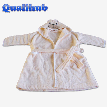 100%cotton terry children bathrobes with hood