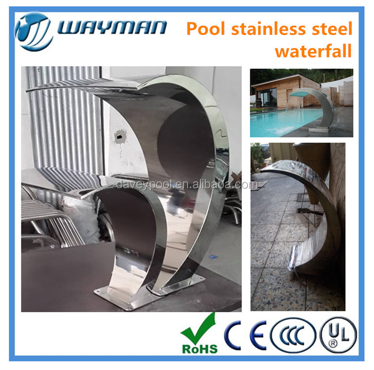 List Manufacturers Of Stainless Steel Waterfall Buy