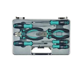156-1407 [Whirlpower] screwdriver and plier tool kit,7pcs