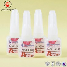 OEM glue for nails with brush Chinese manufacture Professional strong adhesive
