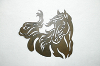 2015 Hot Metal Crafts Hanging Decor Wall Home Decor wrought iro Horse