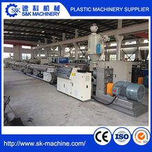 PP PE PVC electrical wire corrugated pipe production line