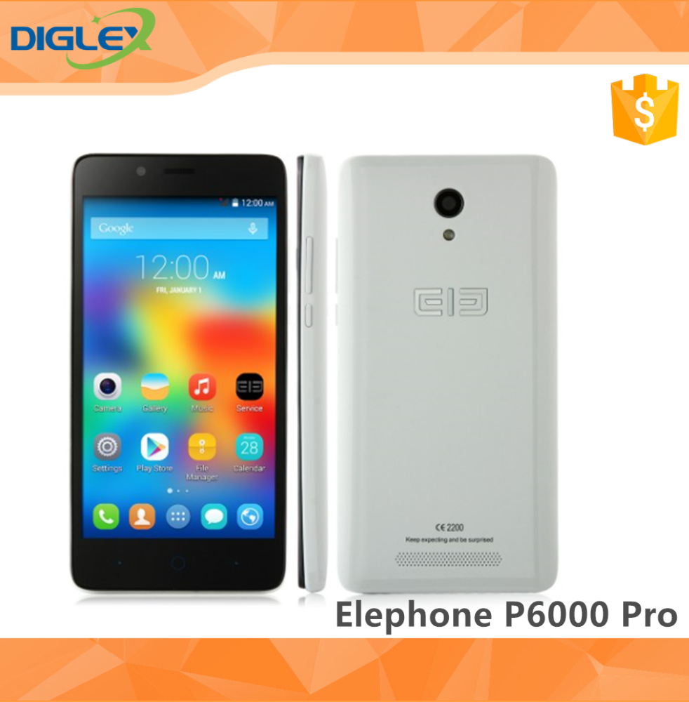 4G Mobile Phone Elephone P6000 Pro Smartphone 3GB 16GB MTK6753 Octa Core 5.0 Inch 2.0+13.0MP