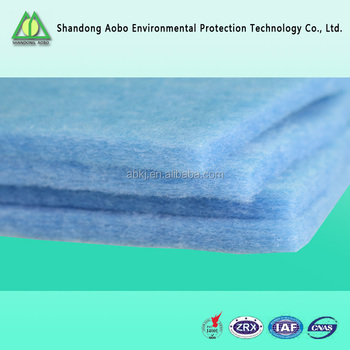 synthetic fiber pre filter air pre filter media /air filter cloth