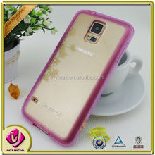 clear double injection case for galaxy s5 mobile phone accessories