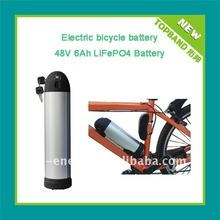Rechargeable bottle case 48v 10Ah e bike battery factory direct sale