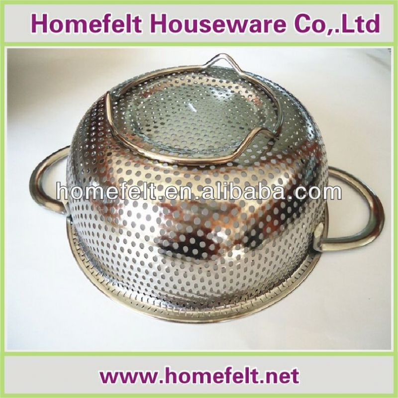 2014 hot selling colander stainless steel function