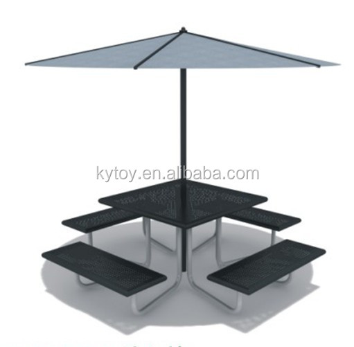 garden bench with umbrella,outdoor table and chair with sun shade