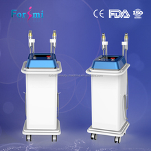 Specially two handles equipped thermagic face lift micro needle skin nurse system machine salon use