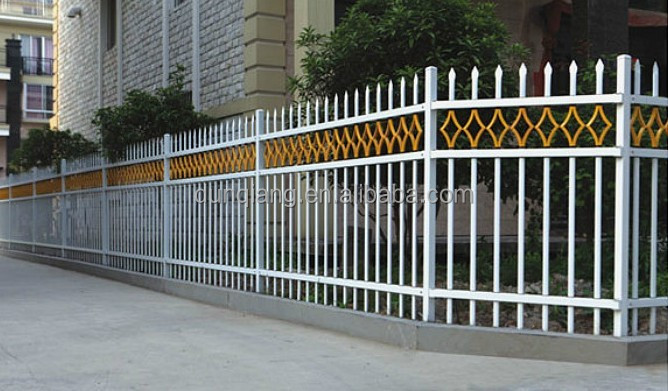 cerca de jardim ferro : cerca de jardim ferro:Wrought Iron Security Fence