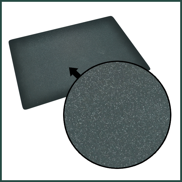 black rubber padded dining table silicone placemats