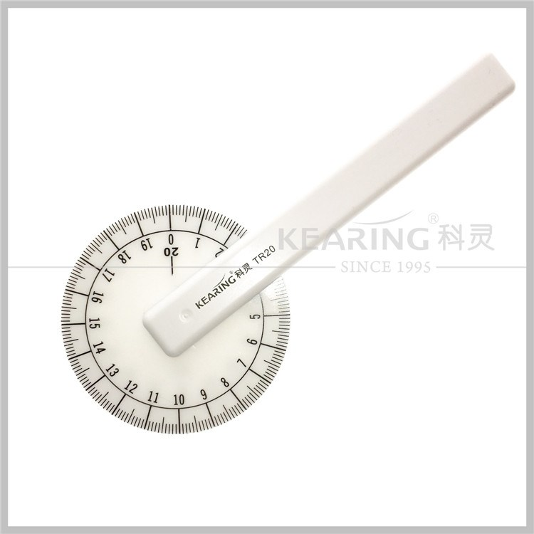 Kearing High Quality China Manufacture Plastic Tracing Wheel/ 20 CM Marks /tooth tracing wheel # TR20