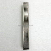 Rectangular Stainless Steel Shower Floor Grate Grain,Linear Floor Drain