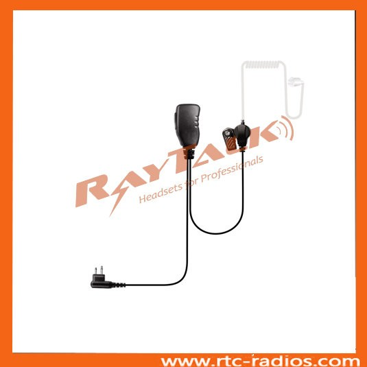 2 wire surveillance kit spy Acoustic Tube earpiece for eads tph700
